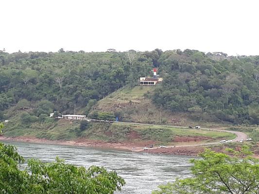 La marque des 3 frontières au Paraguay !