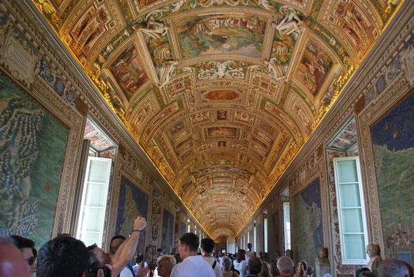 Les plafonds du musée du vatican