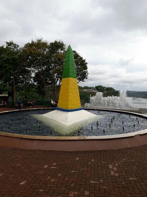 La marque des 3 frontières au Brésil !
