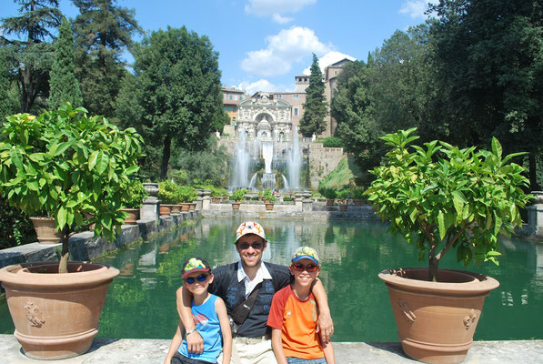 Les magnifiques jardins de la villa d'Este
