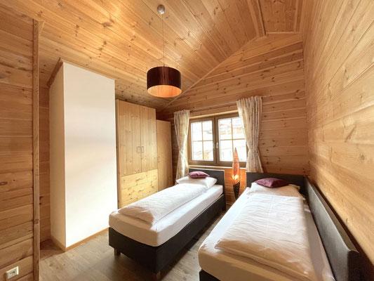 Schlafzimmer 2 (Einzelbetten/zusammenschiebbar)