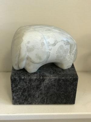 Kleines Mammut II (./.), Speckstein bearbeitet