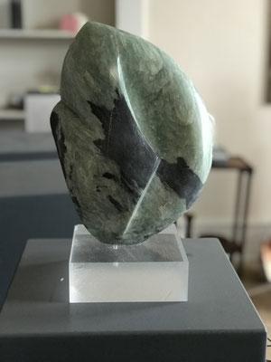 NN (./.) , Speckstein bearbeitet, 28 cm x 21 cm