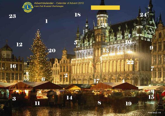 2010 Adventskalender, Förderprojekt Thermos