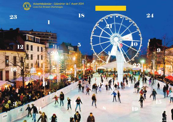 2014 Adventskalender, Förderprojekt Cité Sérine, Einrichtung & Rampe
