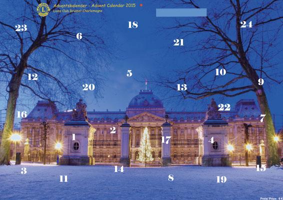 2015 Adventskalender, Förderprojekt Frauenhaus Chèvrefeuille, Bodenbeläge
