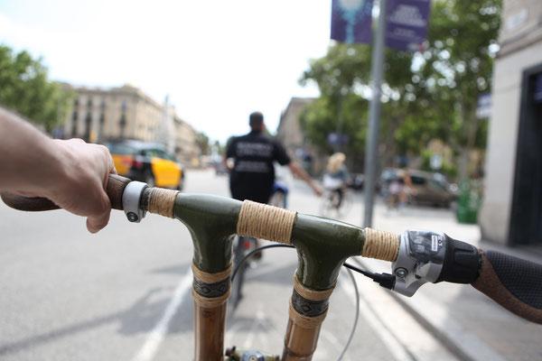 Bamboo BIke Tours Barcelona @ El Born