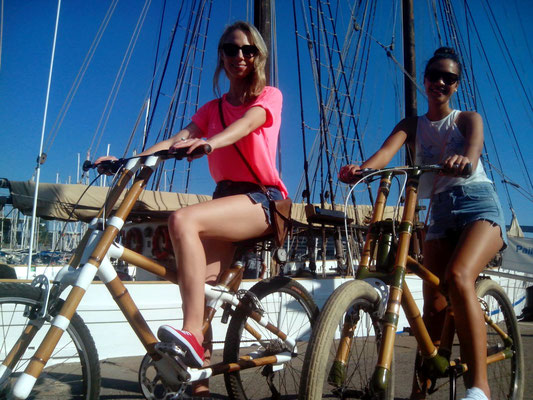Bamboo BIke Tours Barcelona @ Port Vell