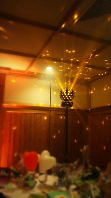 """Sternenkugeleffekt (Starburst - die """"moderne Spiegelkugel"""")"""