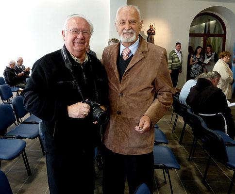 Anton Sedej, Fotograf und Pressereferat Krippenfreunde Zelezniki und Viktor Konjedic, Akademischer Bildhauer Krippenfreunde Kranj.