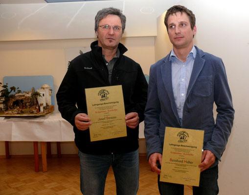 ..an Josef Strauss OV Villach  und Bernhard Huber OV Feldkirchen