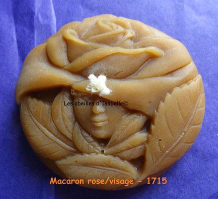 Macaron rose/visage - 1715