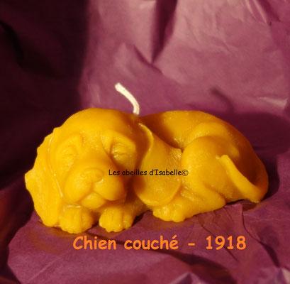 Chien couché - 1918