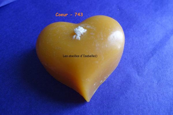 Coeur - 743- (dim. 4,5 - 25g)