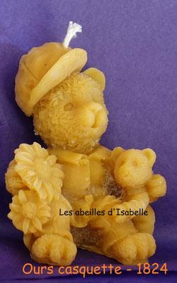 Ours avec casquette - 1824