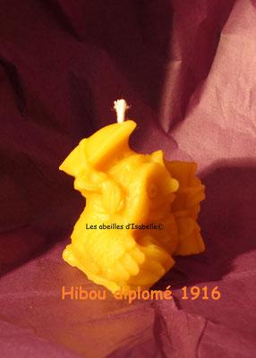 hibou diplomé Réf.1916