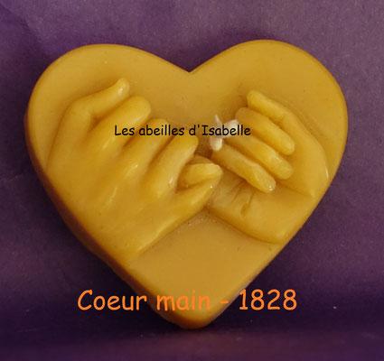 Coeur main - 1828