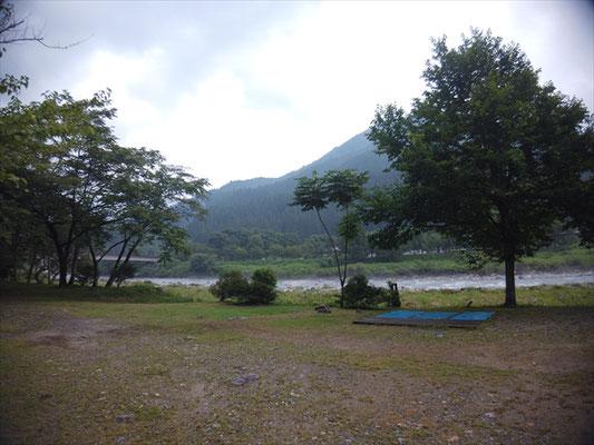 板取川温泉キャンプ場