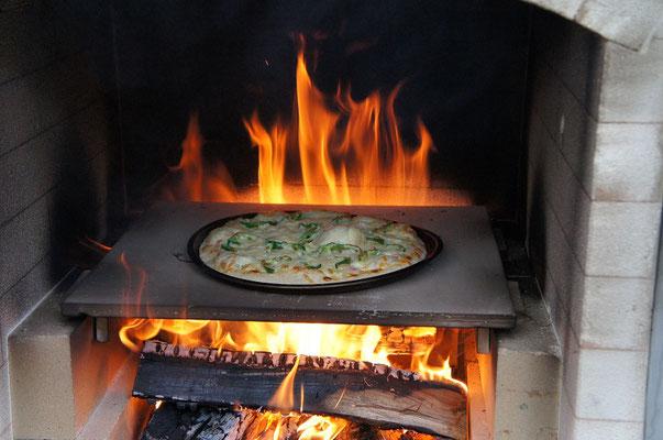 あぶくまキャンプランドピザ窯