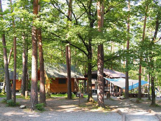 ベルガ尾白の森キャンプ場