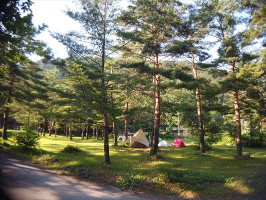 白馬アルプスオートキャンプ場