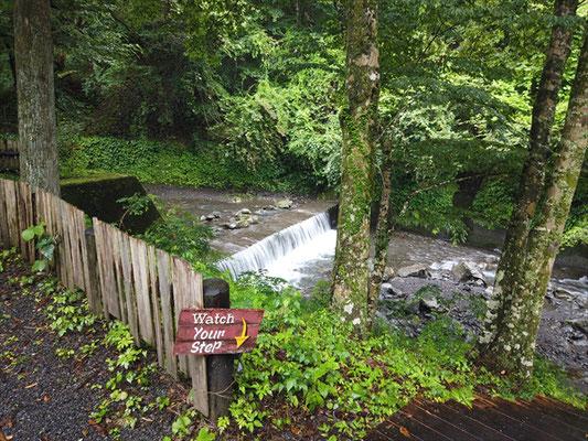 不動の滝自然公園オートキャンプ場
