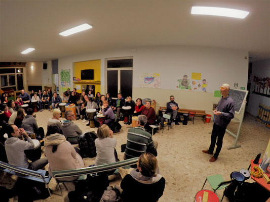 Momento di formazione con lo psicologo Marco Rossi