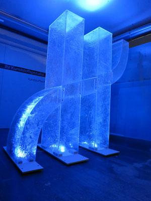 Acryleis Skulptur