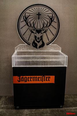 Acryl-Eis Getränkedisplay (Jägermeister)