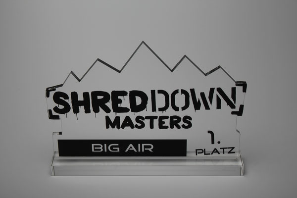 Trophäe Shred Down Masters