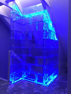 Eiswand aus GEO Brick
