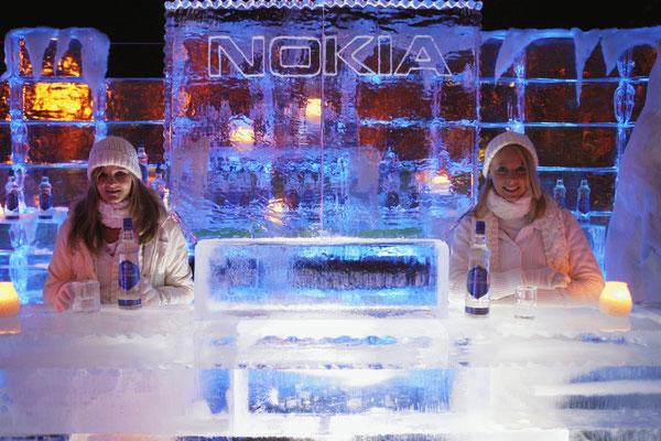 Eisbar Installation 'Nokia Event'