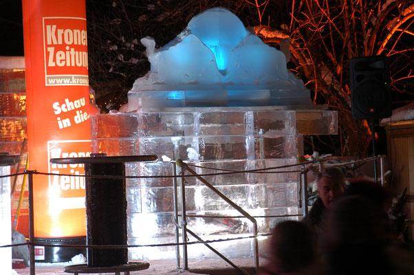 Eisbar aus GEO Brick (Hahnenkammrennen)