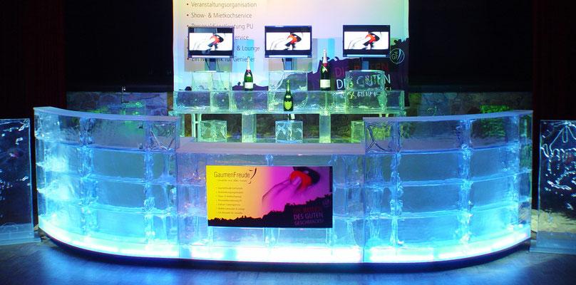 Mobile Eisbar aus GEO Brick (Gaumenfreude)