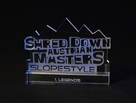 Shred DTrophäe Shred Down Mastersown Trophäe