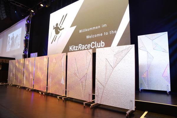 mobile Eiswand (Hahnenkammrennen 2017, Kitz Race Party, Kitzbühel)