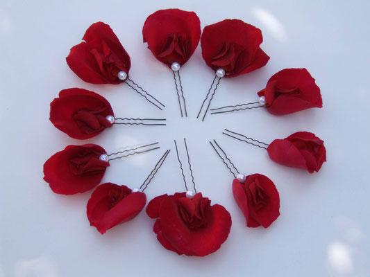 Blumen-Haarnadeln