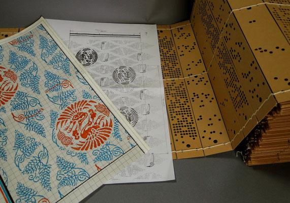 1、 デザイン画・意匠紙・紋紙