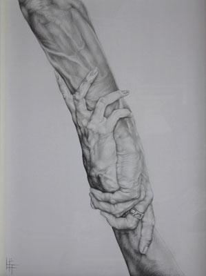 Crayon et Stylo, 50 x 65cm
