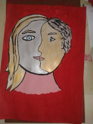 Picasso op school