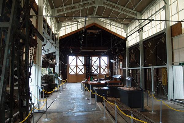 修繕庫の木造の部分は、基本的に開業当初のものだという