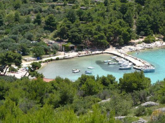 Kroatien - Insel Murter traumhafter Hafen