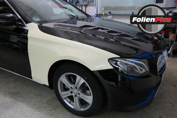Taxi Folie am Mercedes W213