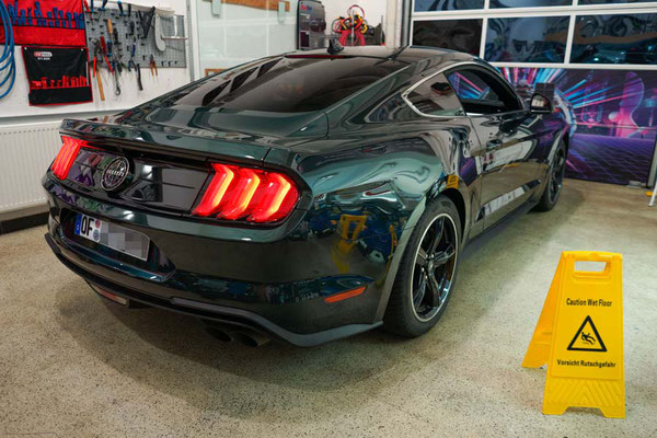 """Scheibentoenung Ford Mustang """"Bullitt"""" - 95% Solar Screen"""