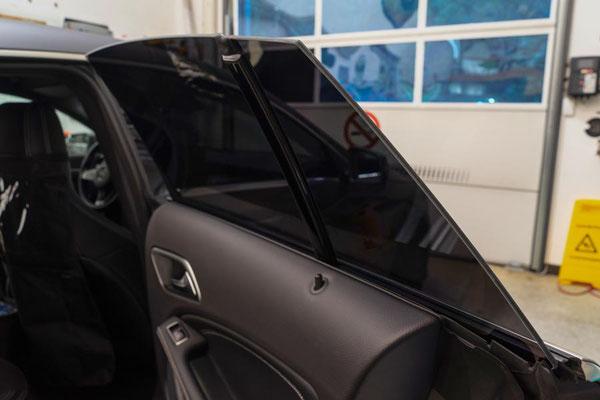 Full covered windows Mercedes CLA