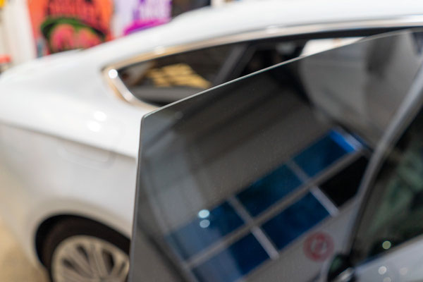 Rahmenlose Scheibentönung Audi A5 - Microedge