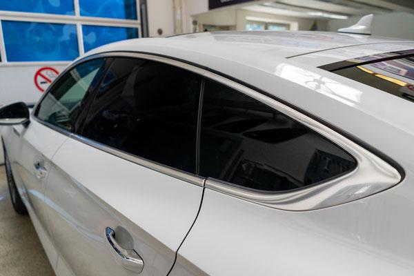 Seitenansicht links Sonnenschutzfolie Audi A5
