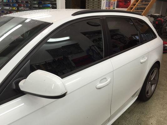 Kfz Sonnenschutzfolie Audi A4 Avant