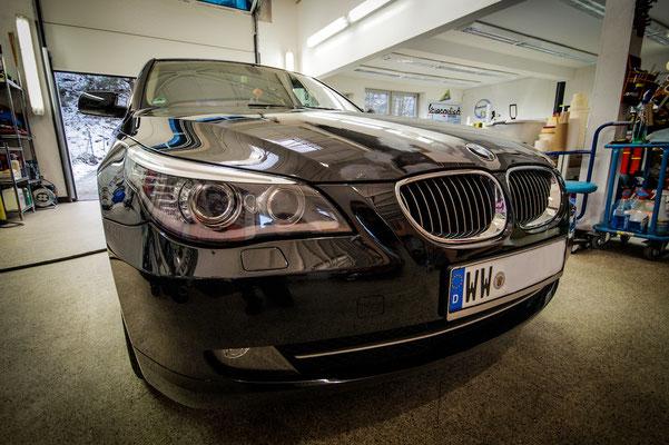 Vor der Vollfolierung 5'er BMW E60