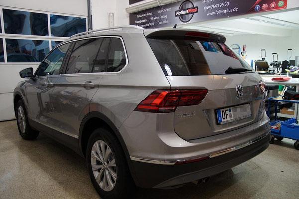 VW Tiguan II nach der Scheibentönung